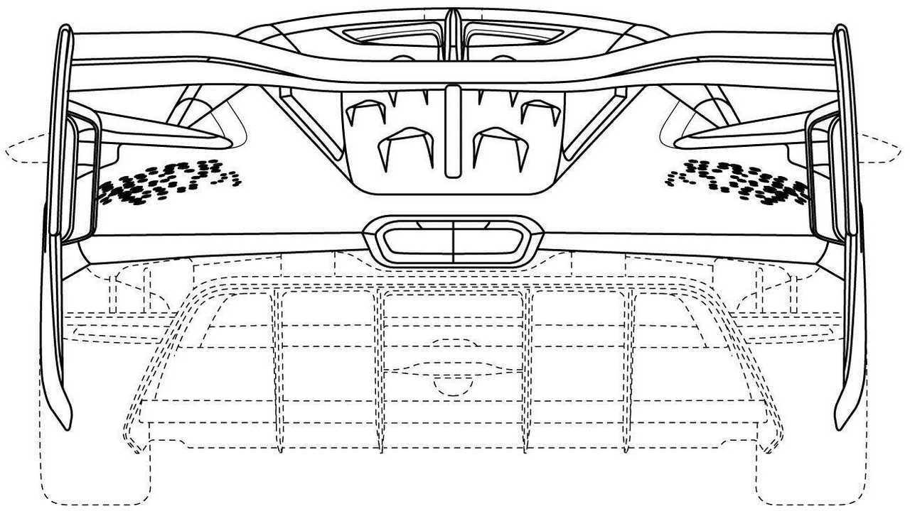 McLaren Ultimate Series Design Trademark Rear