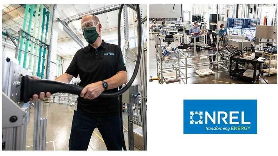 Several Megawatt Charging System Connectors Were Tested At NREL