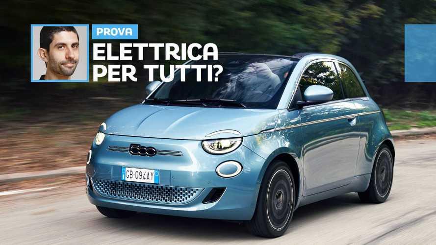 Fiat 500 elettrica, la prova dell'auto a batteria che vuole conquistare gli italiani