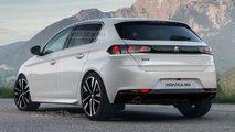 Novo Peugeot 308 - Projeções