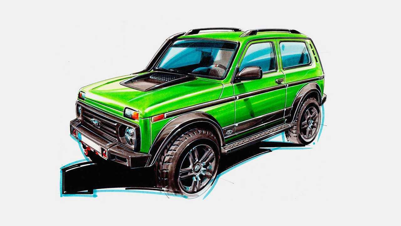 Lada Niva by Partisan Motors