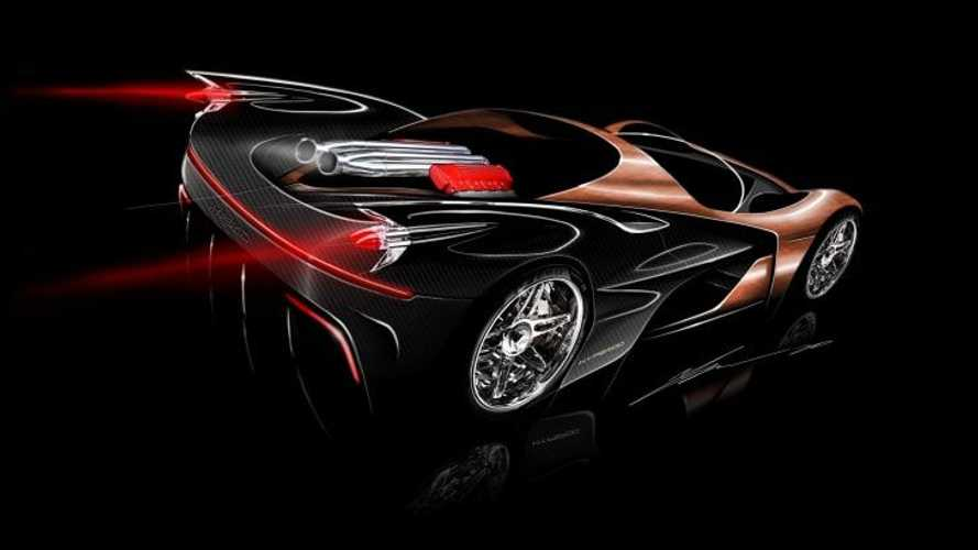 Hyperod Will Be A W16 Hypercar With Two Chevy LS7 V8 Engines