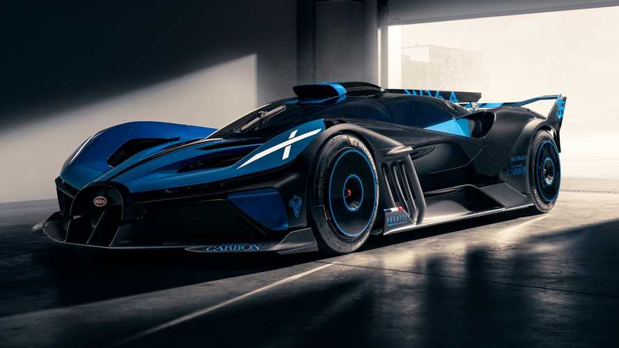Bugatti Bolide - Novas fotos