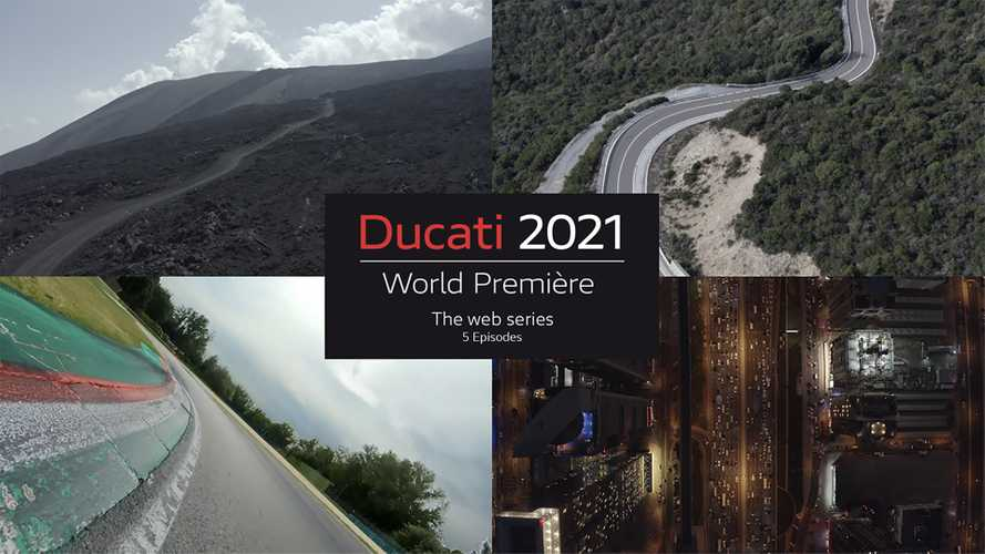 Ducati Multistrada V4 To Be Unveiled In World Première Web Series