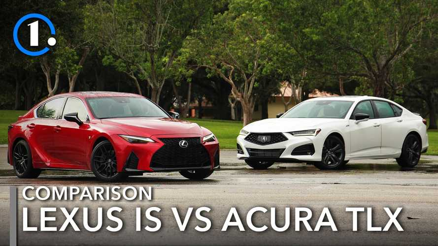 2021 Lexus IS Vs Acura TLX Comparison: Enticing Alternatives