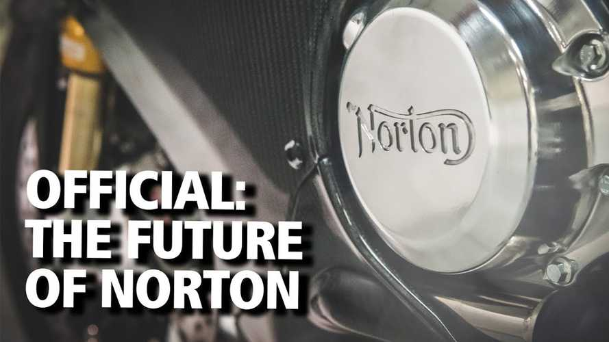 Norton Motorcycles Interim CEO Talks About What The Future Holds