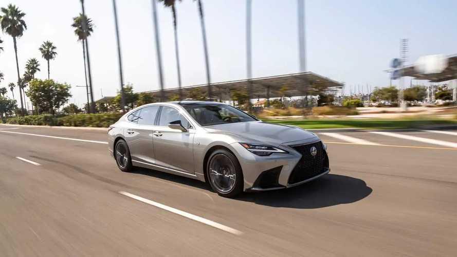 2021 Lexus LS (US Spec)