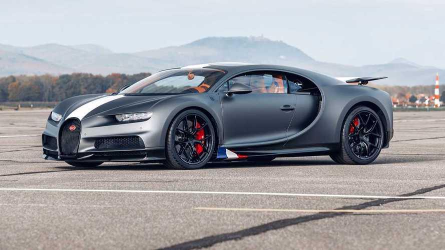 У Bugatti появился еще один особый Chiron – в честь авиаторов