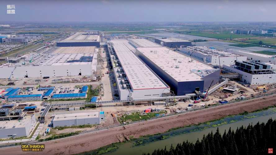 Tesla Giga Shanghai Construction Progress September 10, 2020: Video