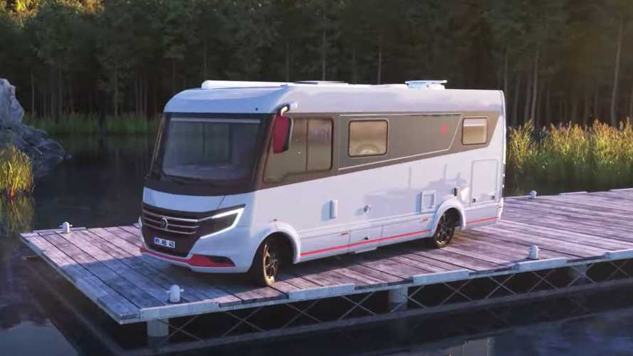iSmove motorhome practically transforms, maximising usable space