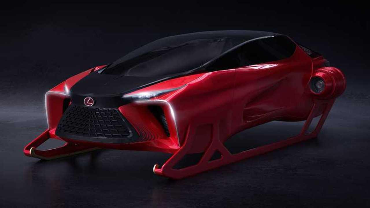 Lexus HX Sleigh Concept Front