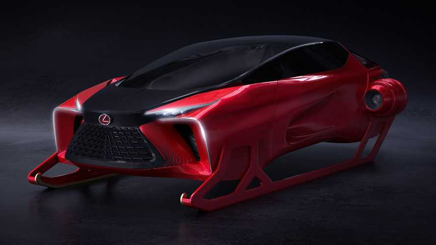 Lexus HX Sleigh Concept Gives Santa A More Stylish Way To Deliver Gifts