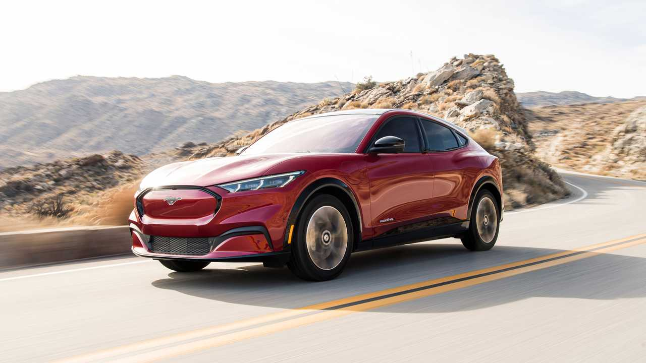 2021 Ford Mustang Mach-E dynamic