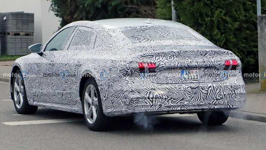 Photos espion Audi A7L