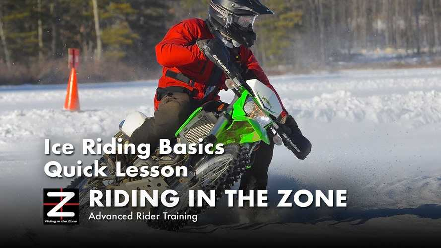 How To Ride A Motorcycle On Ice, And How Not To