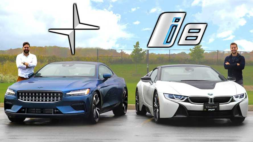 $150,000 PHEV Head To Head Comparison Video: Polestar 1 Versus BMW i8