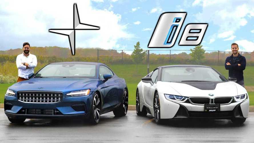$150,000 PHEV Head To Head Comparison Video: Polestar 1 Versus BMW i8