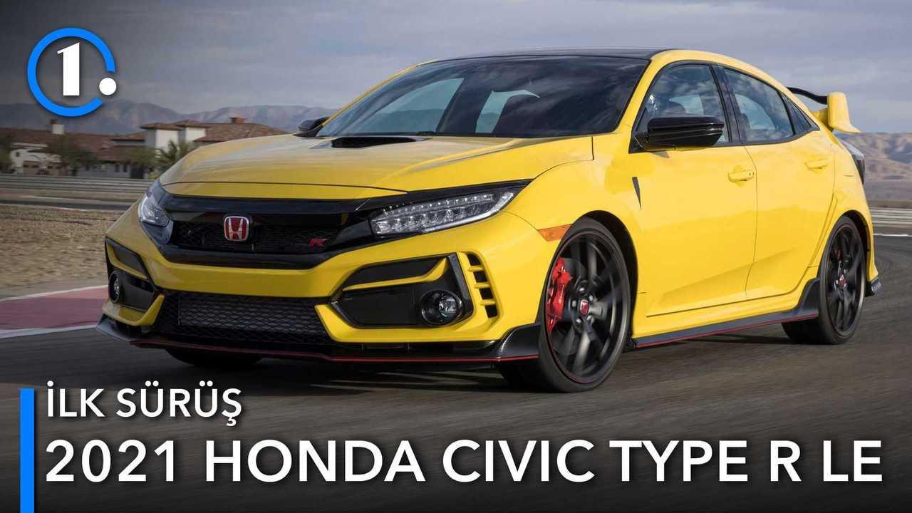 2021 Honda Civic Type R Limited Edition İlk Sürüş