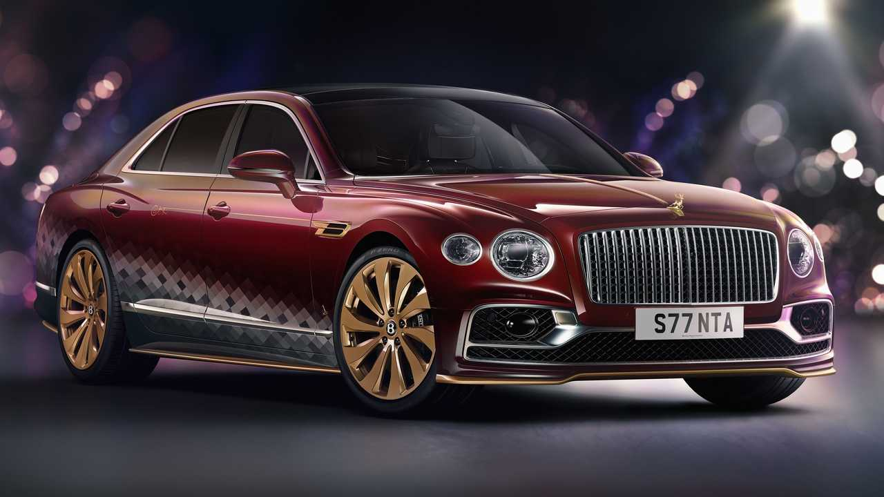 Bentley Flying Spur The Reindeer Eight Front Three Quarters