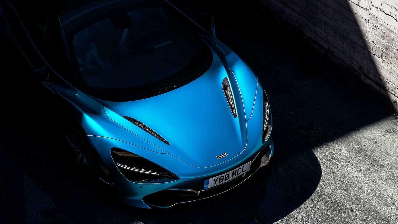 McLaren 720S Spider, il teaser