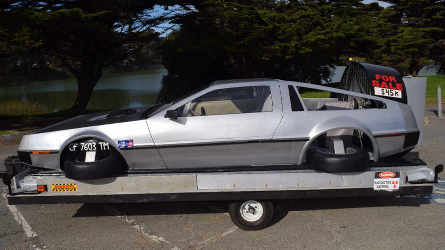 £35,000 will buy you this DeLorean hovercraft