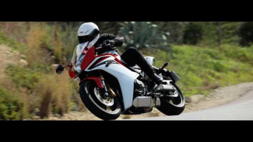 Honda CBR600F 2011 - TEST