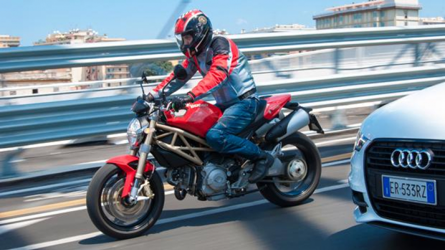 Ducati Monster 796 20th Anniversary 2013 ABS - TEST