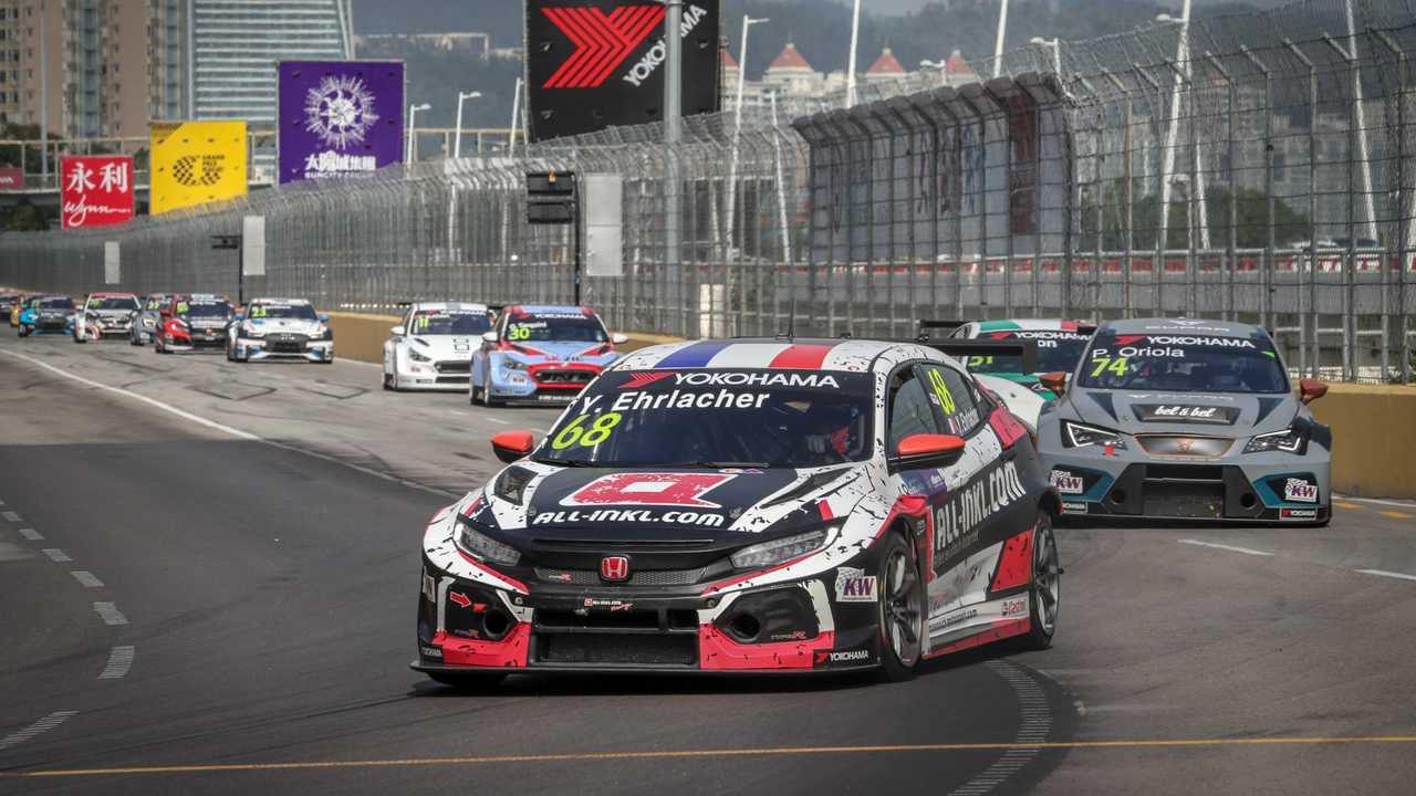 Yann Ehrlacher Honda Civic Type R TCR