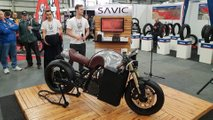 savic electric cafe racer alpha