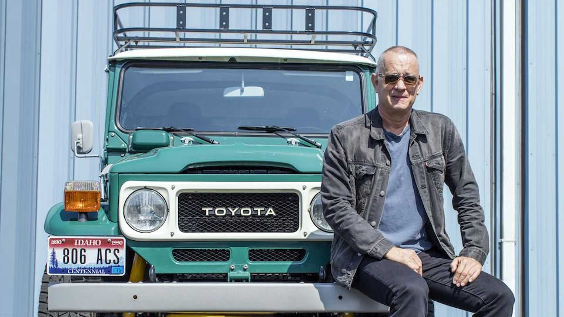 Tom Hanks's Incredible Toyota Land Cruiser Is Up For Auction