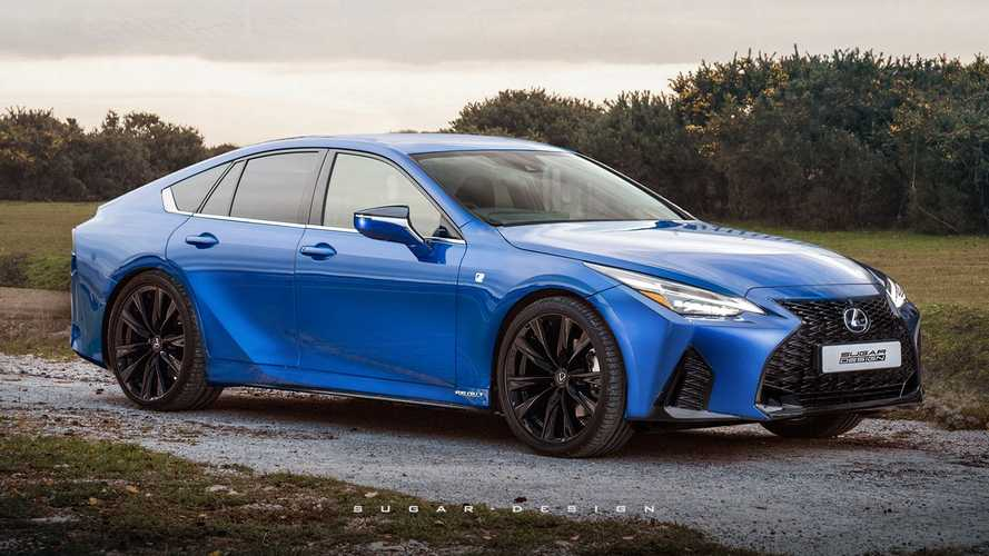 Rendering Lexus GS Berbasis Toyota Mirai, Ada Isyarat IS