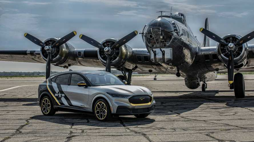 EAA AirVenture Ford Mustang Mach-E One-Off Concept