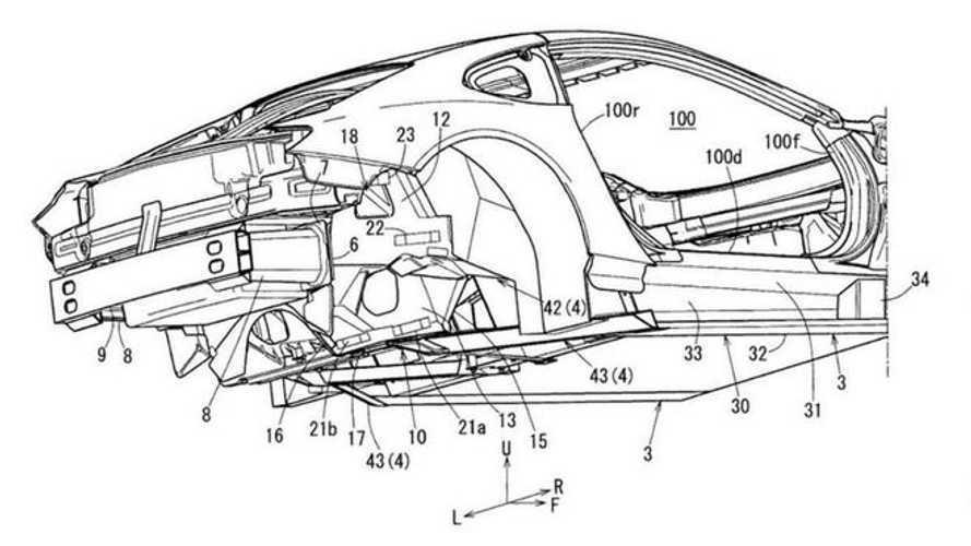В Сети всплыл патент нового спортивного купе Mazda