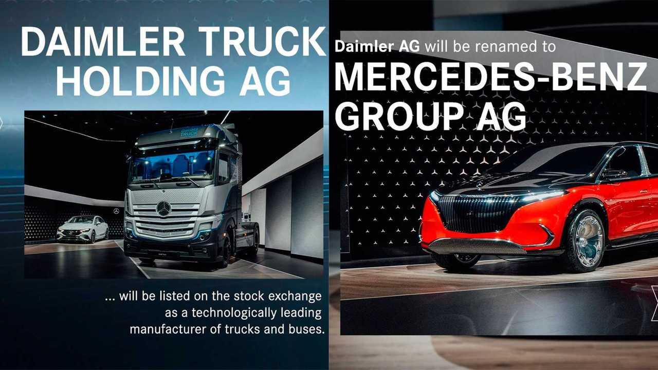 Daimler разделят на две компании