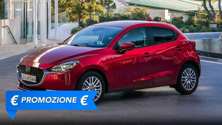 Promozione Mazda 2 benzina, perché conviene e perché no