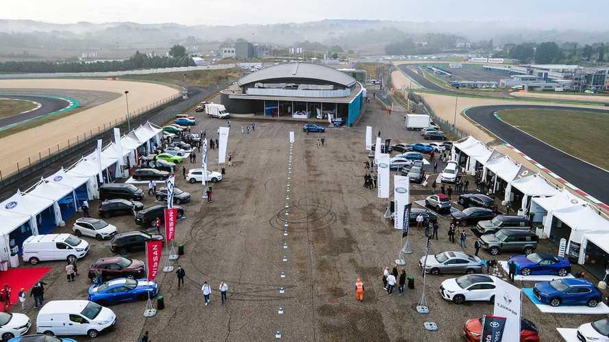 Flotte aziendali, 200 auto a Vallelunga per Fleet Motor Day 2021