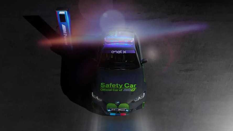 BMW i4 M50 Safety Car For FIM ENEL MotoE World Cup