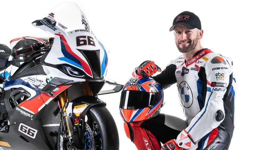 BMW WSBK Rider Tom Sykes In Hospital After Crash In Barcelona
