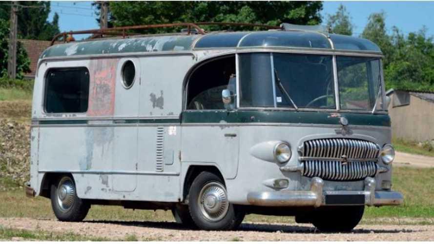 Este Citroën Type H camper busca dueño para una restauración