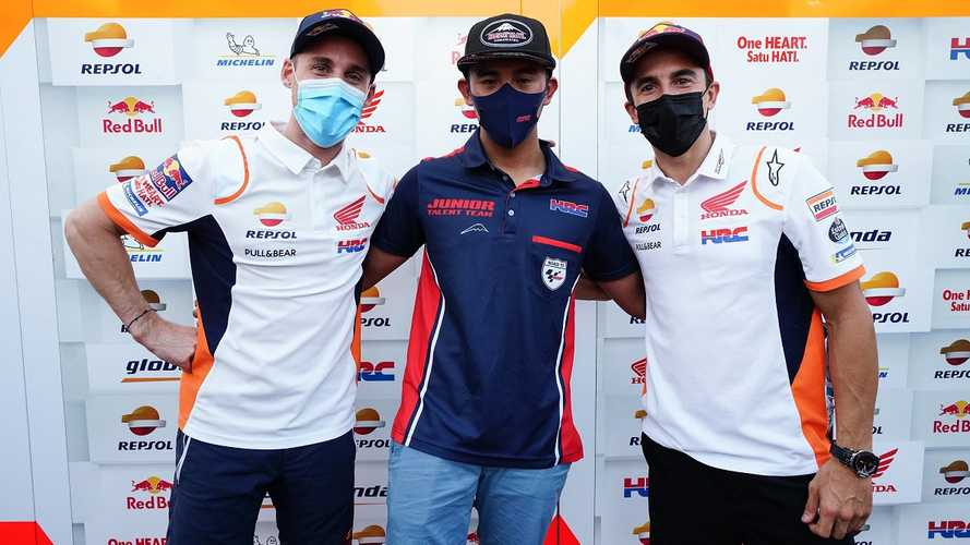 Mario Suryo Aji Bangga Disemangati Dua Pembalap MotoGP Honda