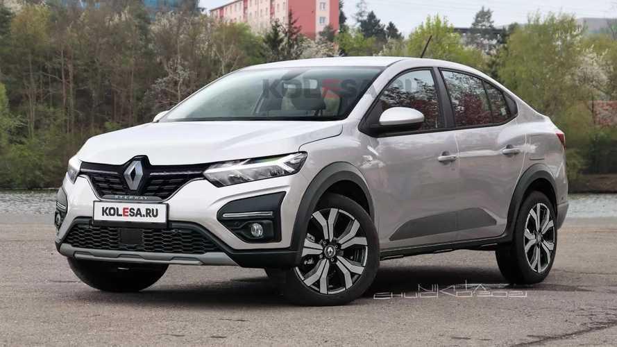 Renault Logan Stepway - Projeção