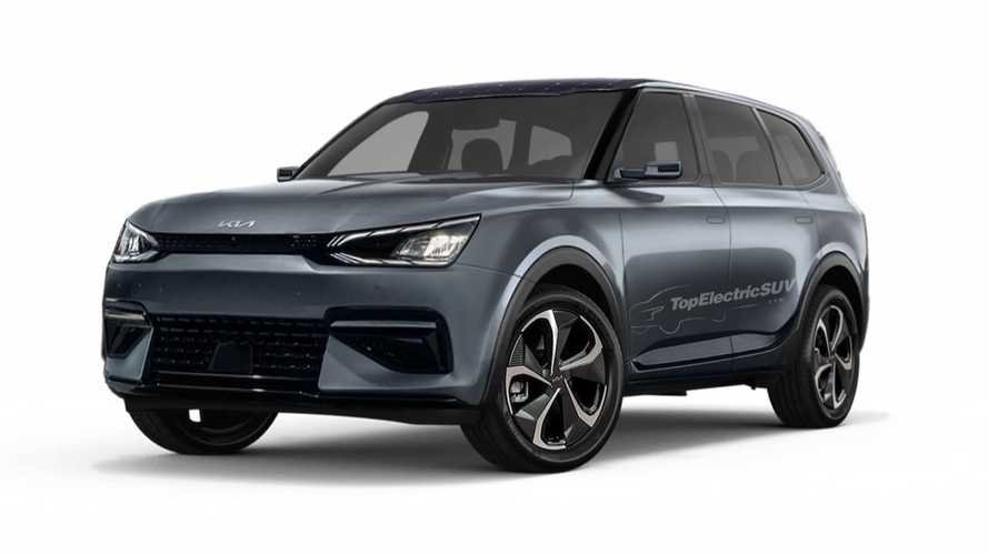 Yay Or Nay? Kia EV7 Mid-Size Electric SUV Rendered With EV6 Cues