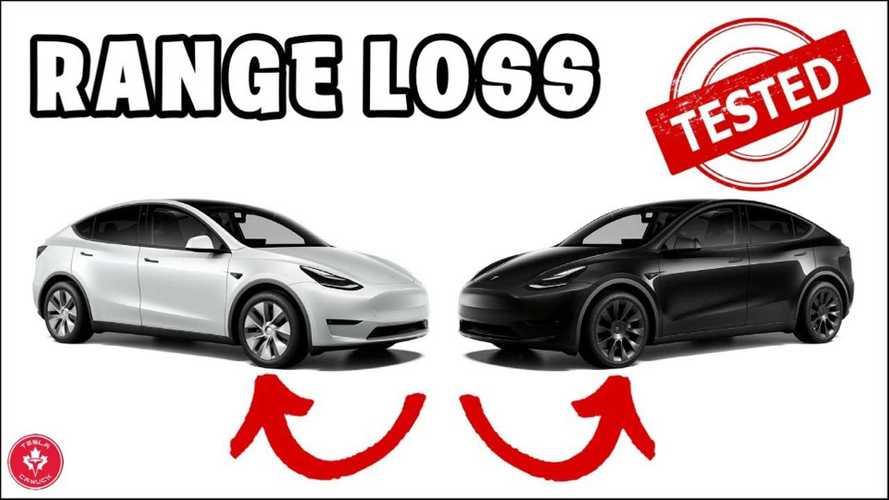 Tesla Model Y Real-World Range Loss With 20-Inch Wheels