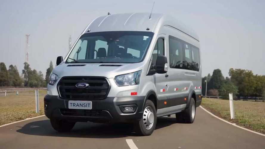 Ford cria Divisão de Veículos Comerciais para lançar nova Transit