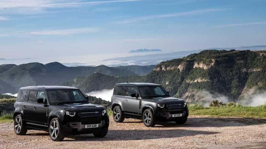 Land Rover Defender 110 V8 2022 primera prueba