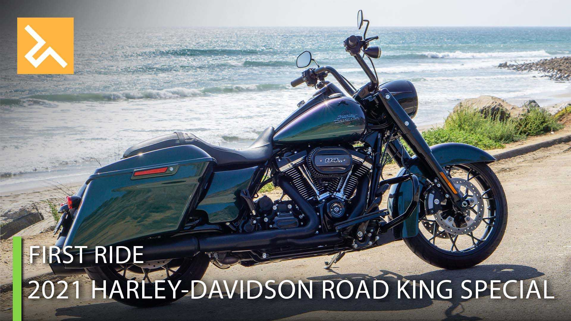 2021 Harley-Davidson Road King Special First Ride Review