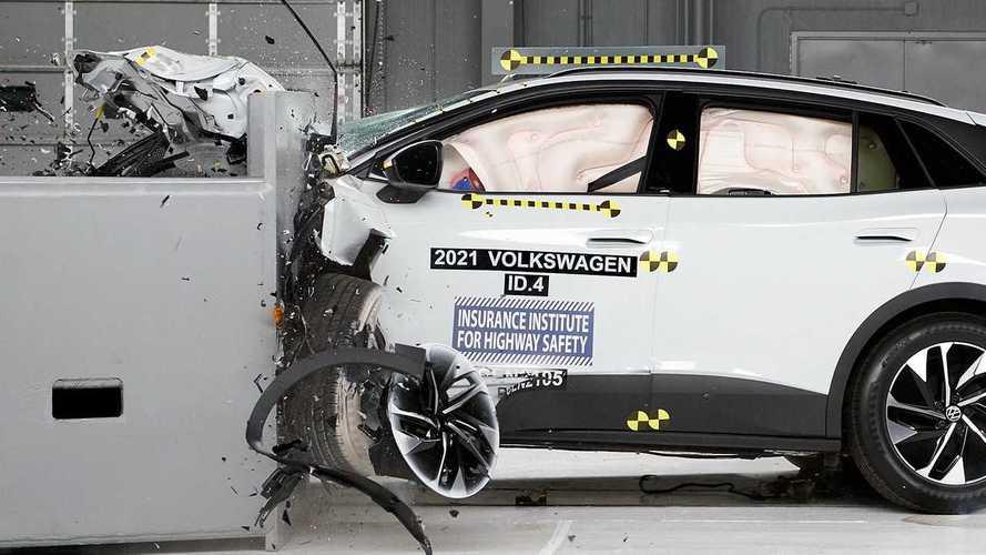 2021 Volkswagen ID.4 IIHS Crash Tests