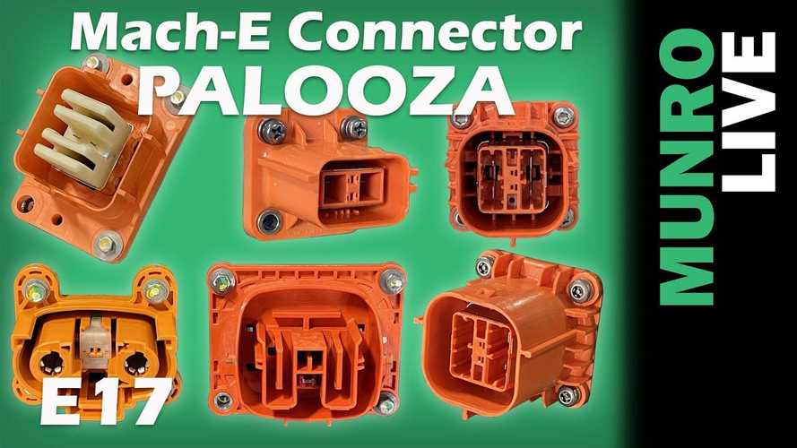Munro Live Finds High Voltage Connector Palooza In Ford Mach-E
