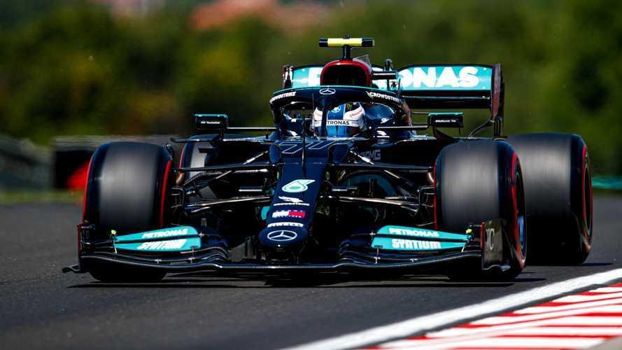 Macaristan GP 2. antrenman: Bottas lider, Mercedes 1-2!