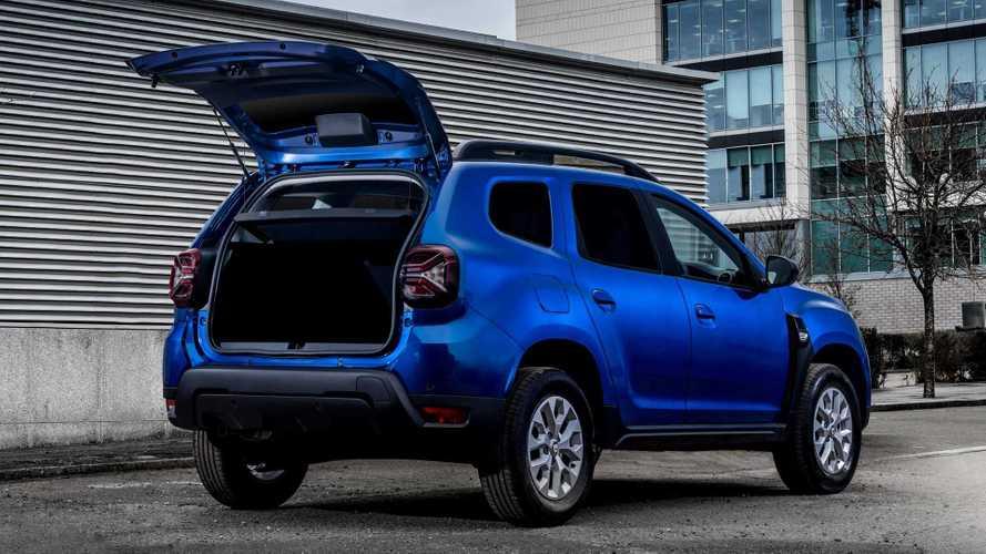 Dacia Duster 2021 ecco la versione furgone in UK